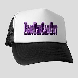 LogoPurpleGlow Trucker Hat