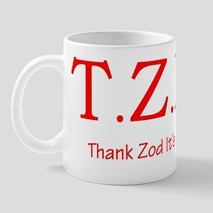 tziwred2trans Mug