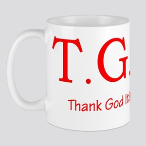tgiwred2trans Mug