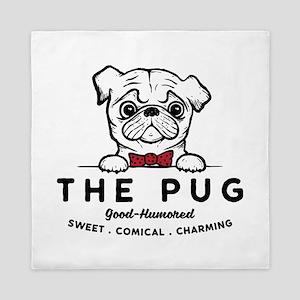 The Pug Queen Duvet