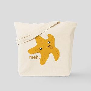 Meh Starfish Tote Bag