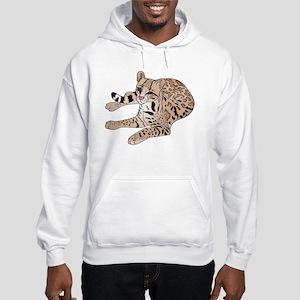 ocelotdark Hooded Sweatshirt