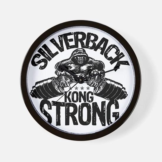 kong strong Wall Clock