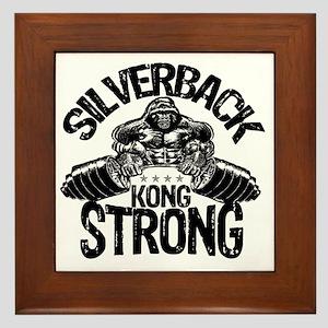 kong strong Framed Tile