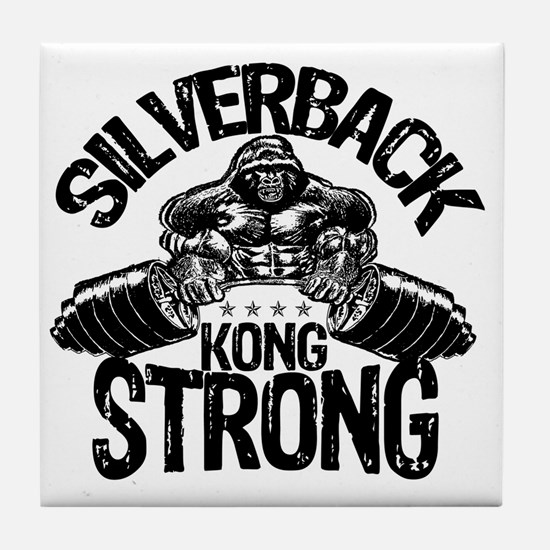 kong strong Tile Coaster