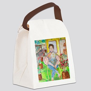 mdmtansookeng 1920-2011-25M Canvas Lunch Bag