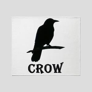 Crow Throw Blanket