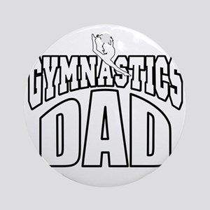 gymdad-DARK SHIRT Round Ornament