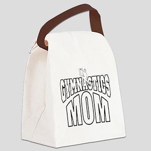 gymMOM-DARK SHIRT Canvas Lunch Bag