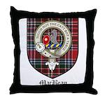 MacBean Clan Crest Tartan Throw Pillow