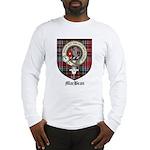 MacBean Clan Crest Tartan Long Sleeve T-Shirt