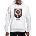 MacBean Clan Crest Tartan Hooded Sweatshirt