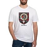 MacBean Clan Crest Tartan Fitted T-Shirt