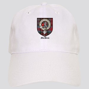 MacBean Clan Crest Tartan Cap
