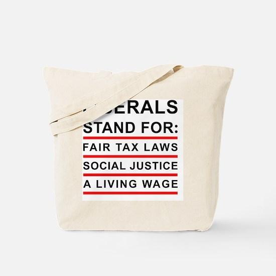 JOURNAL_LIBERALS Tote Bag