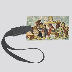 Christmas 1964 Large Luggage Tag