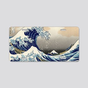 great-wave.travel Aluminum License Plate