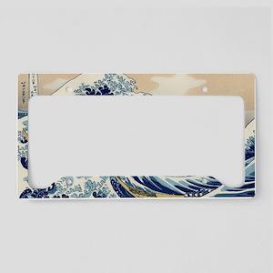 great-wave.travel License Plate Holder