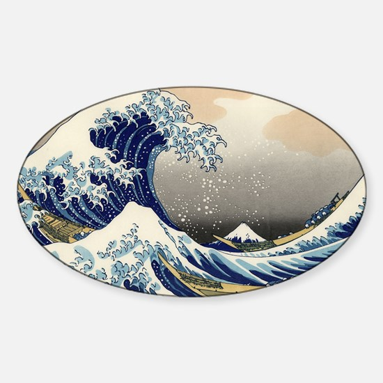 great-wave.travel Sticker (Oval)