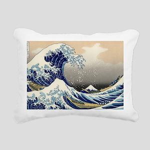 great-wave.travel Rectangular Canvas Pillow