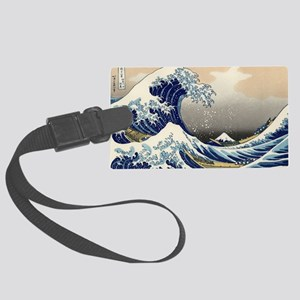 great-wave.travel Large Luggage Tag