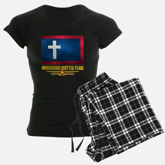Missouri Battle Flag (flag 1 Pajamas