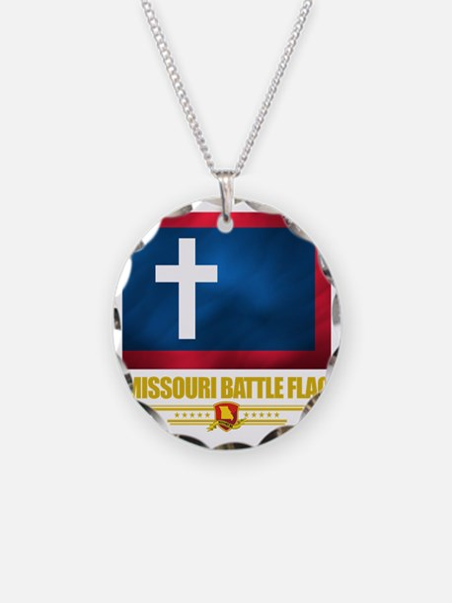 Missouri Battle Flag (flag 1 Necklace