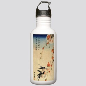 Swallow and peach flow Stainless Water Bottle 1.0L