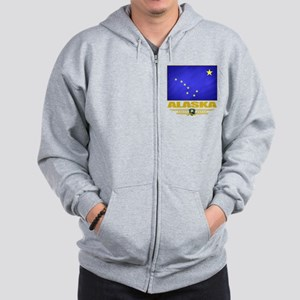 Alaska (Flag 10) Zip Hoodie