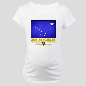 Alaska (Flag 10) Maternity T-Shirt