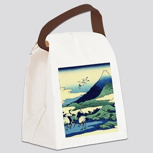 cranes-sagami.mouse Canvas Lunch Bag