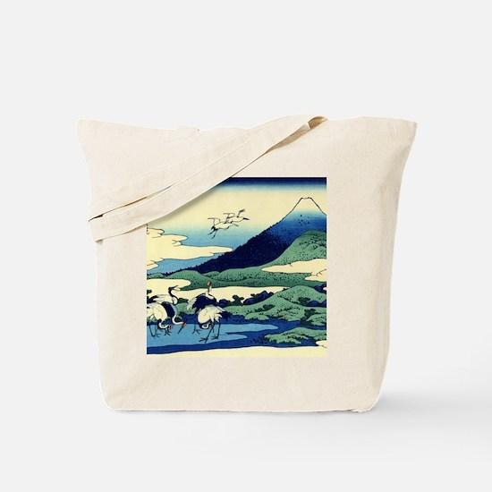 cranes-sagami.mouse Tote Bag
