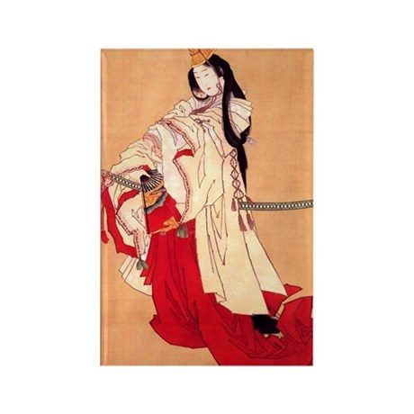 Shirabyoshi dancer.square.57 Rectangle Magnet