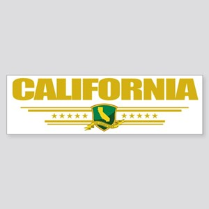 California (Flag 10) pocket Sticker (Bumper)