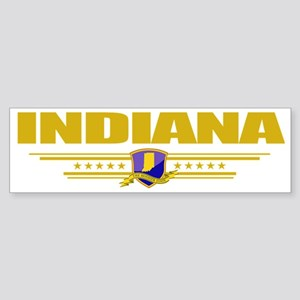 Indiana (Flag 10) pocket Sticker (Bumper)