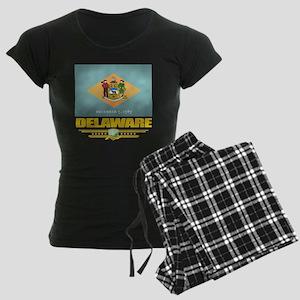 Delaware (Flag 10) Women's Dark Pajamas
