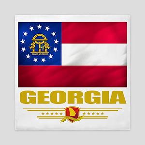 Georgia (Flag 10) Queen Duvet