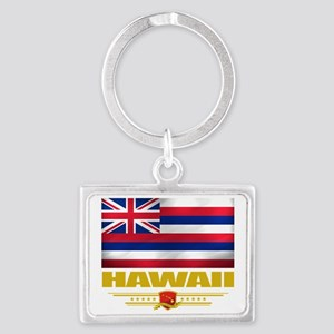 Hawaii (Flag 10) Landscape Keychain