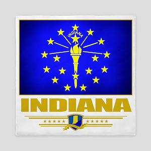 Indiana (Flag 10) Queen Duvet