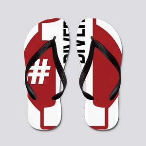 1scubadiver-01 Flip Flops