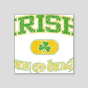 """IRISH Erin  file Square Sticker 3"""" x 3"""""""