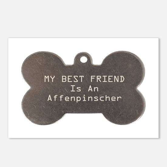 Friend Affenpinscher Postcards (Package of 8)