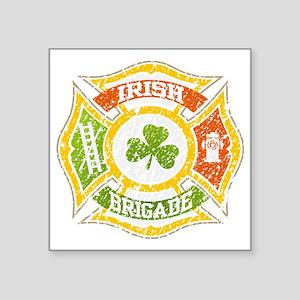 """IRISH Brigade  file Square Sticker 3"""" x 3"""""""