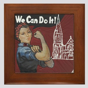 scan for tees - we can do it Framed Tile
