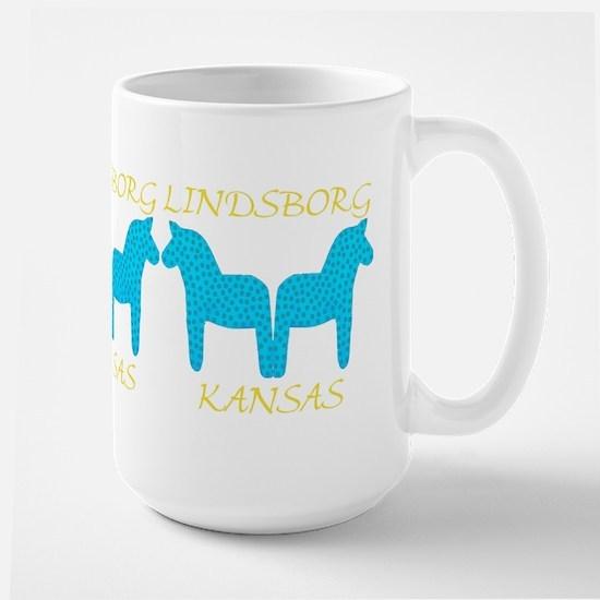 Lindsborg Kansas Large Mug