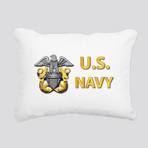 U.S. Navy Rectangular Canvas Pillow