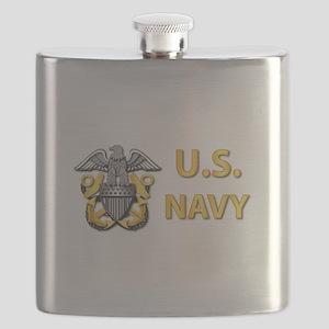 U.S. Navy Flask