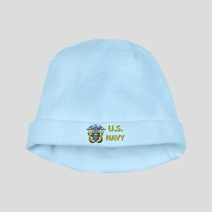 U.S. Navy baby hat