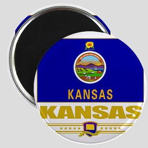 Kansas (Flag 10) Magnet