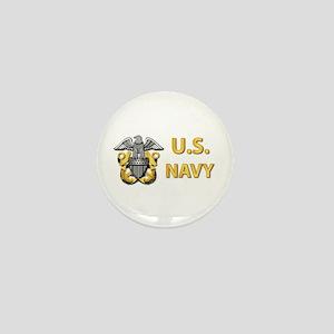 U.S. Navy Mini Button